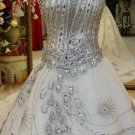 Darius Cordell Beaded Wedding Dresses, One Shoulder Bridal Gowns