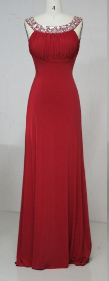 #MH14004 x - Red Evening Dresses, Red Prom Dresses