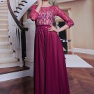 #F310007 - Pink Long Sleeve Mother of Groom Evening Dresses - x