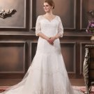 x - Plus Size Wedding Dresses with Longer Sleeves