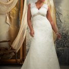 #3131 - Empire Waist Plus Size Wedding Gowns
