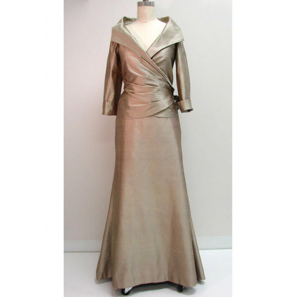 #2014ZY - Silk Mother of The Bride Dresses
