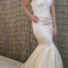#Zia - Strapless Embroidered Wedding Dress
