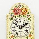Hand-painted cream mini wall clock OL-830W