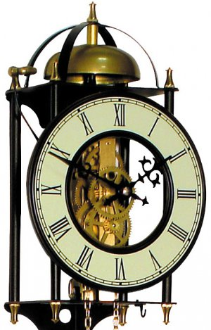 8 Day Weight Driven German Replica Wall Clock Ol 8503 1