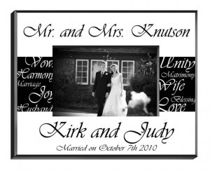 Personalized Wedding Frame-GC430