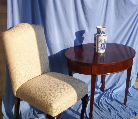 2 Matching Queen Anne Chairs