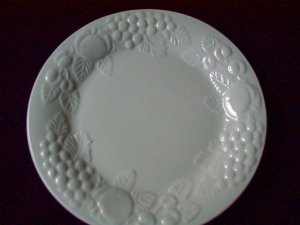 Close up of Dinner Plate