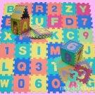 """EVA Alphabet & Number Interlocking Puzzle Foam Mat 6"""""""