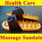 Reflexology Wooden Massage Sandals *Size M* Ship to Worldwide