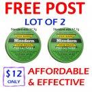 2 x NIXODERM for Acne Spot Blemish Ringworm Eczema Rash *Free Shipping*