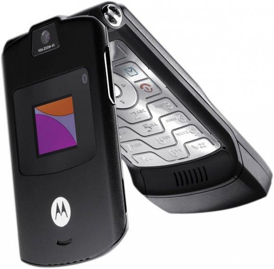 Motorola V3 Razr Black