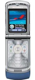 Motorola V3 Razr Blue