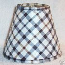 New Country Plaid Mini Chandelier Lamp Shade