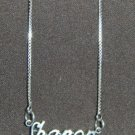Sterling Silver Name Necklace - Name Plate - SHANON