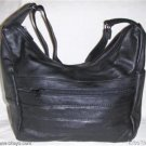 New Leather Shoulder Bag, Purse, Handbag -3003 BLACK
