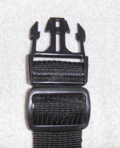 BLACK Adjustable Wide Fanny Pack Extender E06
