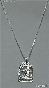 Sterling Silver Zodiac Necklace - SAGITTARIUS