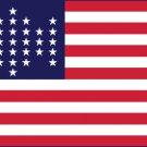 33 Star Flag - (1859-1861) 3' x 5' Flag