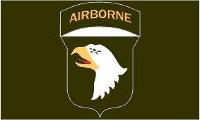 101st Airborne Flag-Screaming Eagles