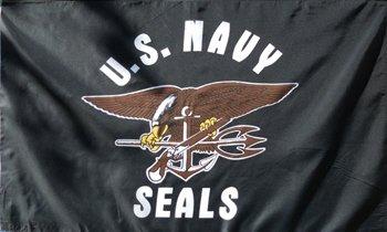 Navy Seals Flag  3' x 5' Flag