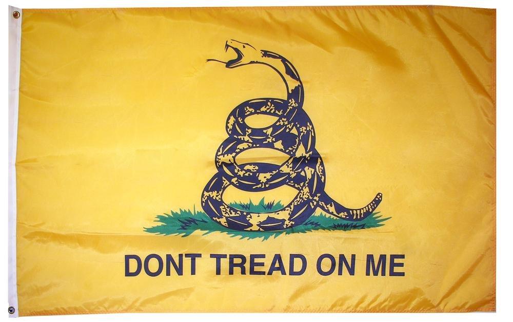 Don't Tread on Me - Gadsden - Tea Party Flag 3' x 5' Flag