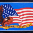 Proud to Be American Flag w/black border 3' x 5' Flag