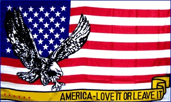 American - Love it or Leave it Flag  3' x 5' Flag