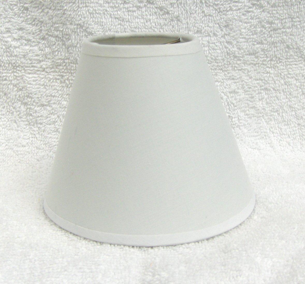 CREAM MUSLIN Mini Chandelier Lamp Shade