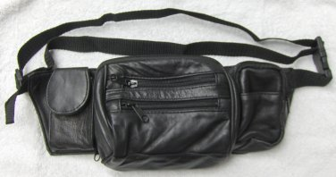 Genuine Lambskin Leather Fanny Pack - #3073