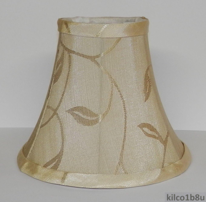 new cream swirl leaf chandelier mini lamp shade. Black Bedroom Furniture Sets. Home Design Ideas