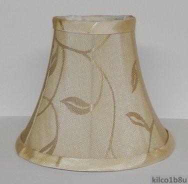 New CREAM SWIRL LEAF Chandelier Mini  Lamp Shade