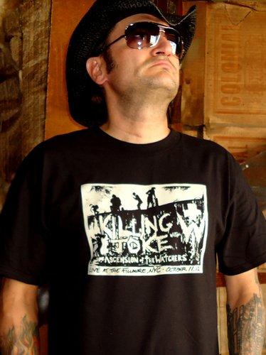 ASCENSION OF THE WATCHERS w Killing Joke t-shirt ~ SIZE M fear factory city of fire