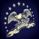 American Eagle Resistance Shirt - RESIST TRUMP FASCISM - Premium Sueded T Shirt SIZE 2XL
