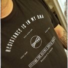 RESISTANCE IS IN MY DNA - Citizens For Science Based Policy - Premium Sueded T Shirt SIZE L