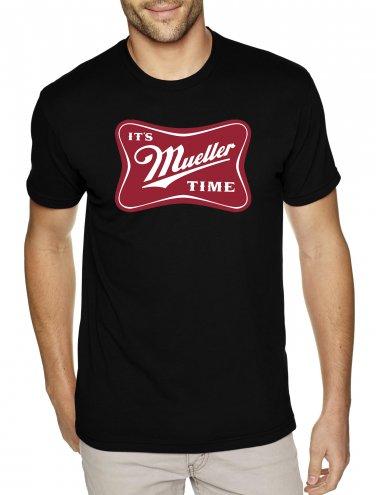 IT'S MUELLER TIME shirt - Premium Sueded T Shirt SIZE XL