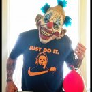 JUST DO IT. Michael Myers Halloween shirt - Premium Sueded T Shirt SIZE M