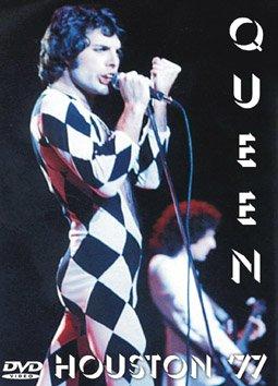Queen Live in Houston 1977 Rare DVD Region Free EX quality