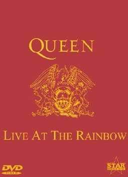 QUEEN RARE DVD LIVE AT THE RAINBOW 1974 CONCERT VIDEO NEW REMASTERED VERSION!!
