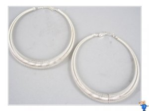 HUGE Hoop Earrings / Circle
