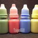 Oil Dye Liquid Kit to color Fairy Dust / NAME ON RICE / Message Charms Pendant DIY