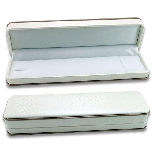 White Brocade Multi-purpose Plastic Box