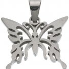 316L Stainless Steel Butterfly Pendant