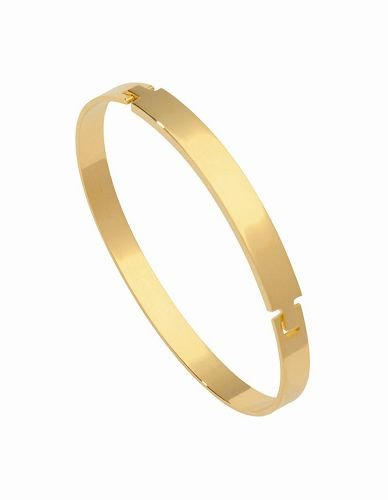 18K Gold Laminate Bangle