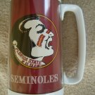 Large thermal Seminole Florida State mug/cup