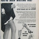 Vintage Goldstripe stockings advertisement.