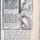 Vintage X-Bazin hair remover print ad
