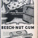 Vintage Beech-Nut Gum print ad