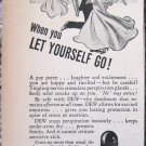 Vintage Dew deoderant print ad