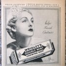 Vintage 1937 Wrigley's chewing gum print ad